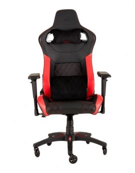 Silla Corsair Gaming T1 Race 2018 Edit. Negra/roja