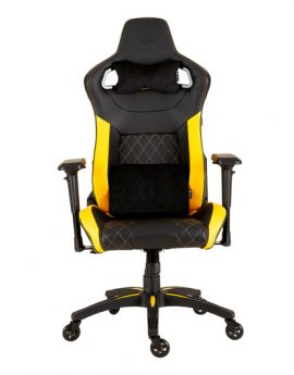 Silla Corsair Gaming T1 Race 2018 Edit. Negra/amarilla