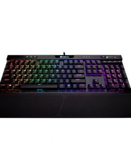 Corsair K70 RGB MK.2 Low Profile Rapidfire Teclado Mecánico Gaming Retroiluminado Cherry MX Red Español