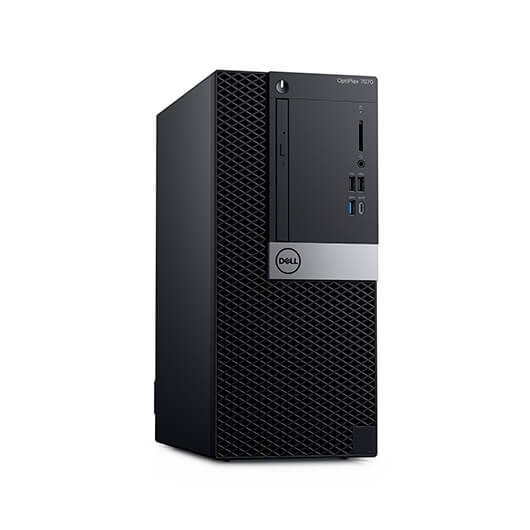 Pc Dell OptiPlex 7070 Mini Tower (CJ89Y) i5-9500 8GB 256GB SSD Dvd-rw w10pro Negro