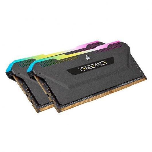 Corsair Vengeance RGB Pro SL DDR4 3200 PC4-25600 32GB 2x16GB CL 16