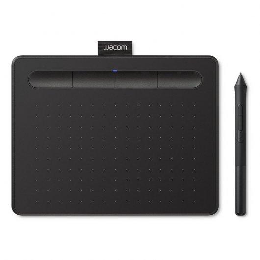 Tableta Digitalizadora Wacom Intuos Basic Pen Small Negro