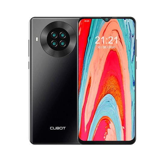 Smartphone Cubot Note 20 3/64GB Negro - 6.5' cam 12+20+2+0.3mp/8mp - dualsim