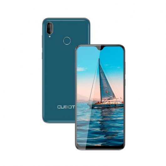 Smartphone Cubot R15 Pro 3/32GB Verde - 6.26' - 16+2mpx/13mpx - dualsim - huella - 4G