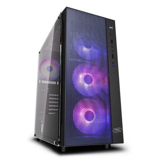 DeepCool Matrexx 55 Mesh ADD-RGB 4F Cristal Templado USB 3.0