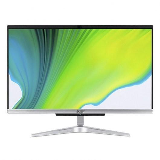Acer Aspire C24-963 i3-1005G1 8GB 256GB SSD 23.8' w10 Negro Plata