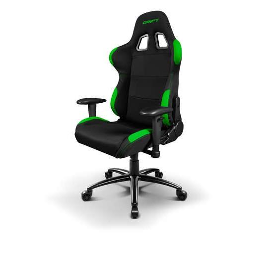 Drift Silla Gaming DR100 Negra/verde