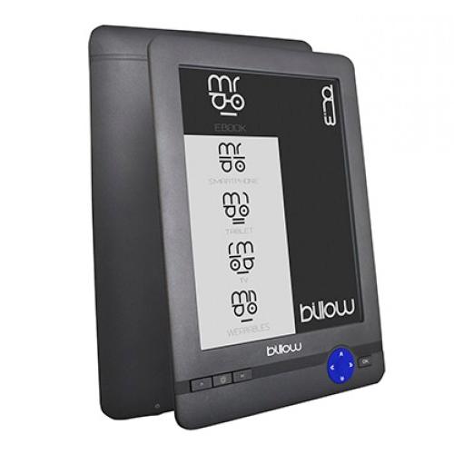 Libro De Tinta Electronica Billow Pantalla De 6 Tactil Con Panel E-ink Pvi  800x600  4gb Lector Micro Sd