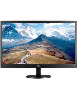Monitor Led 21.5  Aoc E2270swn Negro