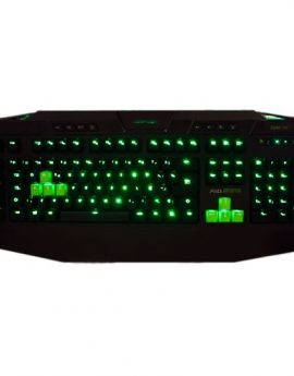 Teclado Gaming Keep Out F110S Mecánico Green Backlight Usb