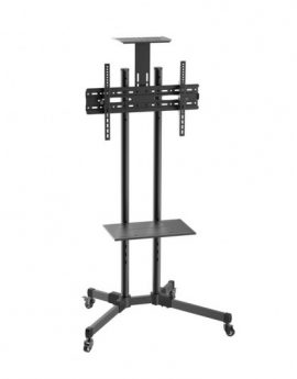 Soporte de pie con ruedas Aisens FT70TE-035 para TV 37'' a 70'' Vesa 600x400 Máx 50kg - inclinable