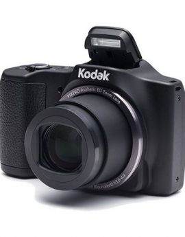 Cámara digital kodak friendly zoom fz201 negra - 16mpx - lcd 3'/7.62cm - zoom 20x opt - ángulo 25mm - vídeo 720p - usb -
