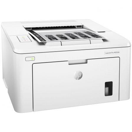 Impresora hp láser pro m203dn - 28ppm - 1200x1200 - eprint - duplex - lan 10/100 - usb 2.0 - bandeja entrada 250 hojas - toner