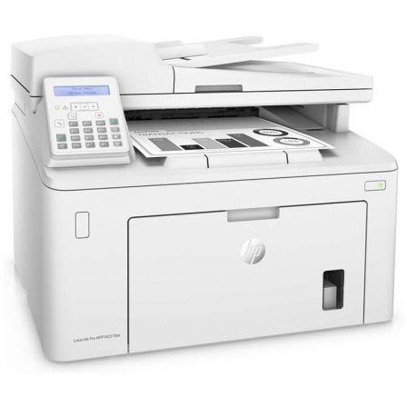 Multifuncion hp con fax láser pro m227fdn - 49ppm - duplex - escan adf 35 hojas - usb - ethernet - jetintelligence - toner
