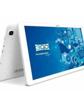 Tablet 10.1 3go  Gt10k3 Qc Ips 1024x600 Intel Quad Core 16gb 1gb Dual Cam Android Lollipop 5.1 Color Blanco
