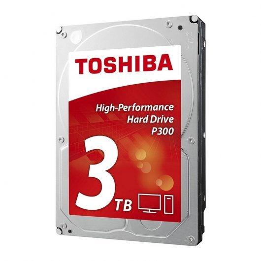 Disco duro Toshiba P300 3.5' 3TB 7200rpm Sata3