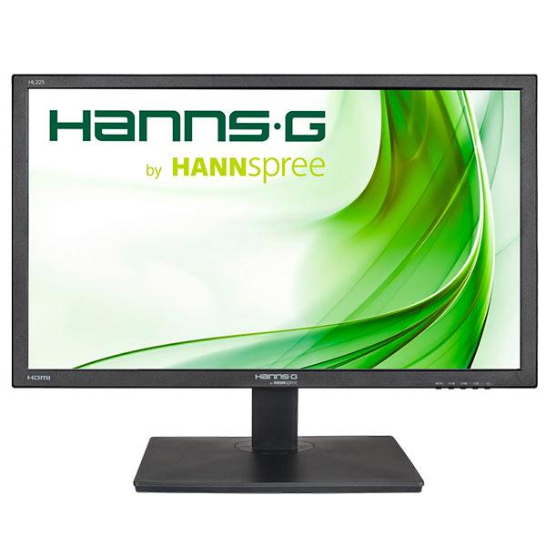 Monitor 21.5 Hdmi Vga Hanns-g Hl225hpb 1920x1080 Multimedia 250cd 100000:1 5ms Color Negro