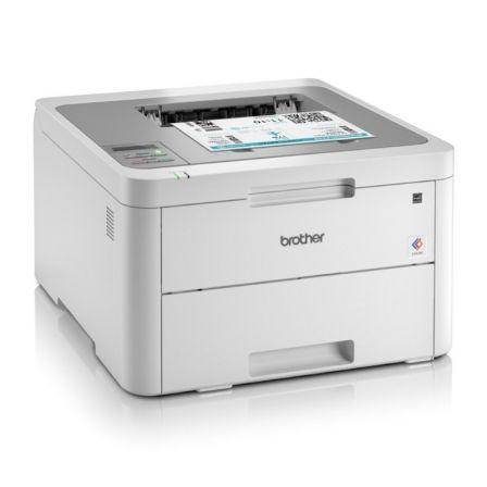 Impresora brother wifi láser color hl-l3210cw - 18ppm - 600ppp - bandeja 250 hojas - brother iprint&scan - airprint - usb 2.0 -