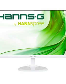 Monitor 23.6 Hdmi Vga Hanns-g Hs246hfw Multimedia Fhd 1920x1080 7ms 1000:1 250cd Color Blanco P/n:hs246hfw
