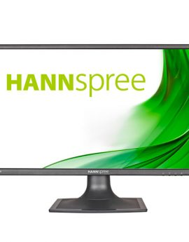 Monitor 23.6 Hdmi Vga Dvi Hanns Hs247hpv  Multimedia Fhd 1920 X 1080/hz 250cd 178°/178°  5,000,000:1 Color Negro