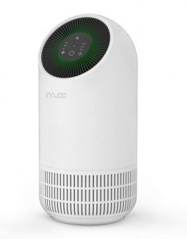 Purificador de aire Innjoo Air Purifier One - filtro hepa - wifi - hasta 11m2
