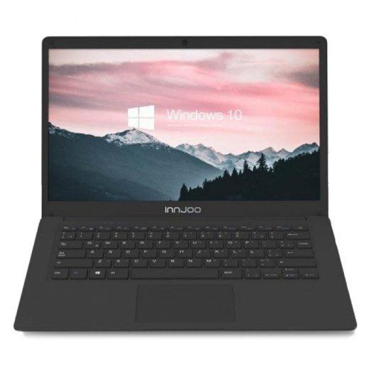 Portatil Innjoo Voom Laptop Max Celeron N3350 6GB 64GB eMMC 14.1' w10 Negro