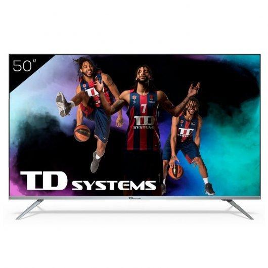 TD Systems K50DLJ12US 50' LED UltraHD 4K HDR10 Smart TV