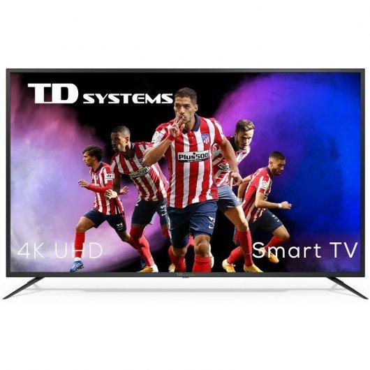 TD Systems K58DLJ12US 58' LED UltraHD 4K HDR10 Smart TV