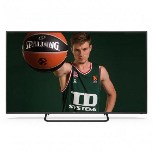 TD Systems K58DLX11US 58' LED UltraHD 4K Smart TV