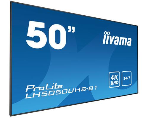"Monitor Iiyama 50"" LCD UHD 4K (lh5050uhs-b1)"