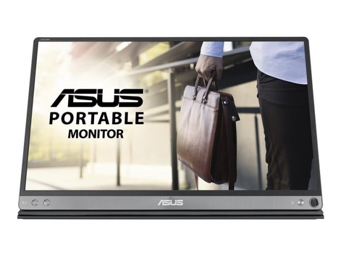 "Monitor Portatil 15.6"" Asus Mb16ac Ips Fhd Usb-c"