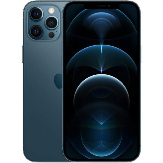 Apple iPhone 12 Pro Max 256GB Azul Pacífico - MGDF3QL/A