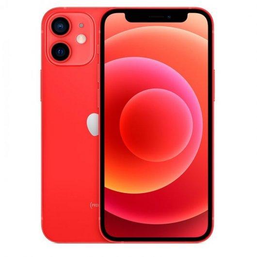 Apple iPhone 12 Mini 64GB (PRODUCT) Rojo - MGE03QL/A