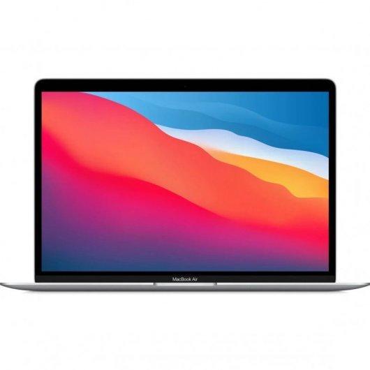 Apple MacBook Air chip M1 8GB 512GB SSD GPU Octa Core 13.3' Plata - mgna3y/a