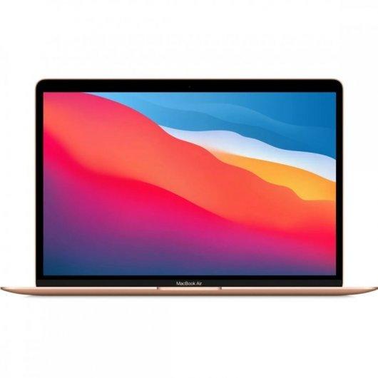Apple MacBook Air Apple M1 8GB 256GB SSD GPU Hepta Core 13.3' Oro - MGND3Y/A