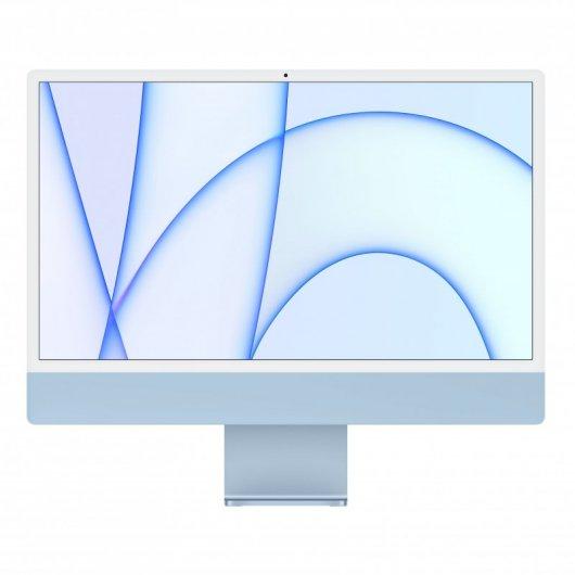 Apple iMac Apple M1 8GB 256GB SSD 24' 4.5K Retina CPU 8 Núcleos/GPU 8 Núcleos Azul