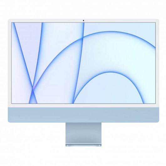 Apple iMac Apple M1 8GB 512GB SSD 24' 4.5K Retina CPU 8 Núcleos/GPU 8 Núcleos Azul