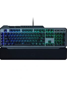 CoolerMaster Masterkeys MK850 Teclado Gaming RGB Gunmetal mecánico Cherry MX Red