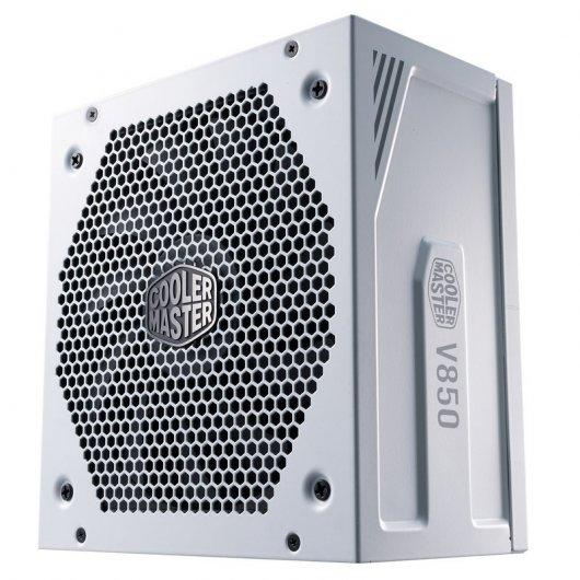Cooler Master V850 Gold-V2 White Edition Fuente de Alimentación 850W 80 Plus Gold Modular Blanca