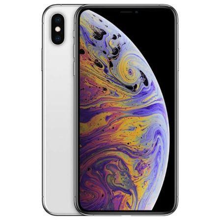 Apple iphone xs max 256gb plata - mt542ql/a
