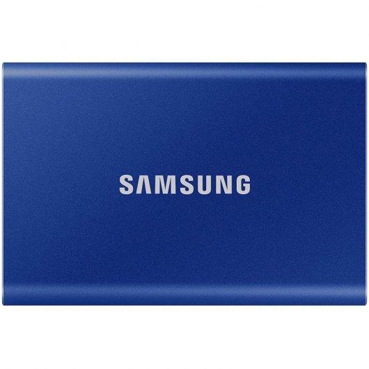 Samsung Portable SSD T7 Disco Duro SSD PCIe NVMe USB 3.2 2TB Azul