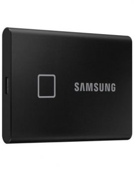 Samsung Portable SSD T7 Touch 500GB Black - usb 3.2 - lectura 1050mb/s - escritura 1000mb/s - cifrado hardware