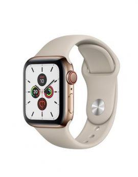 Apple Watch series 5 gps cell 40mm caja acero oro correa piedra deportiva - mwx62ty/a