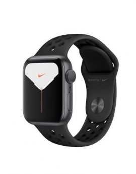 Apple watch nike series 5 gps 40mm caja aluminio gris espacial correa antracita/negra nike depor