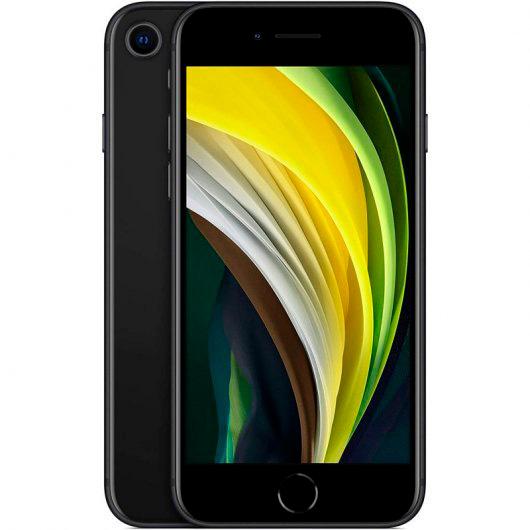 Apple iPhone SE 2020 64GB Black - con adaptador AC y earpods