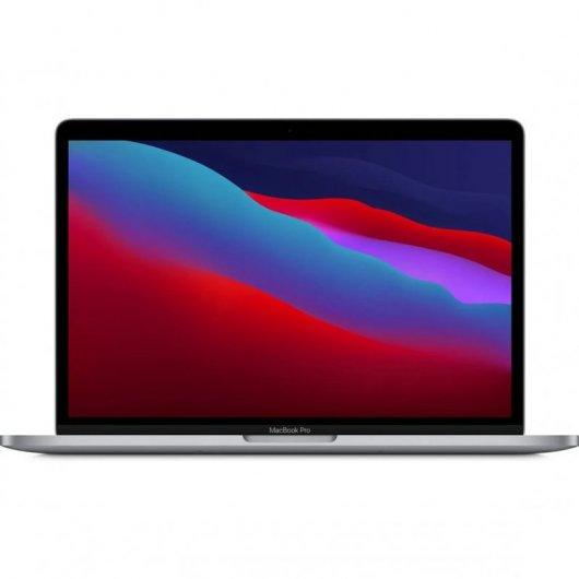 Apple MacBook Pro Apple M1 8GB 512GB SSD 13.3' Gris Espacial - MYD92Y/A