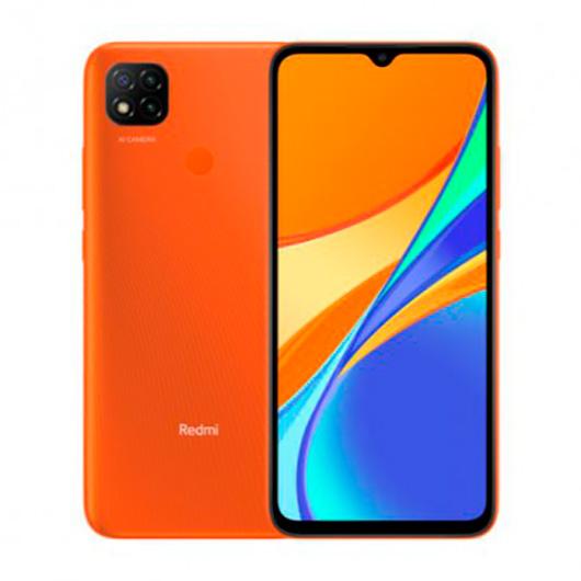 Smartphone Xiaomi Redmi 9C 2/32GB 6.53' Amanecer Naranja