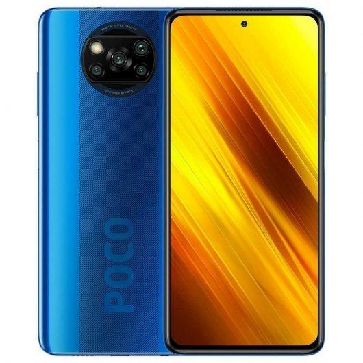 Smartphone Xiaomi Pocophone X3 NFC 6/64GB Azul Cobalto