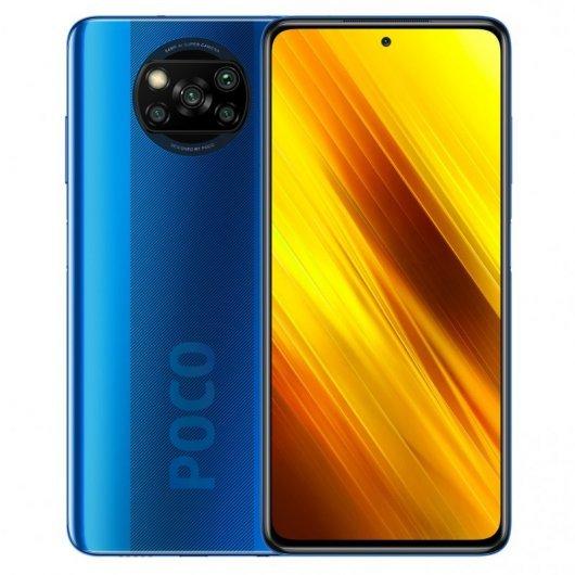Smartphone Xiaomi Pocophone X3 NFC 6/128GB Azul Cobalto
