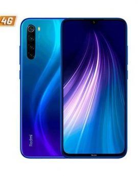 Smartphone Xiaomi Redmi Note 8T 4/64GB Starscape Blue - 6.3' Snapdragon 665 Cam (48+8+2+2)/13 mp 4G Dual Sim